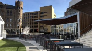 Patio Bar and outdoor restaurants Lumen Detroit